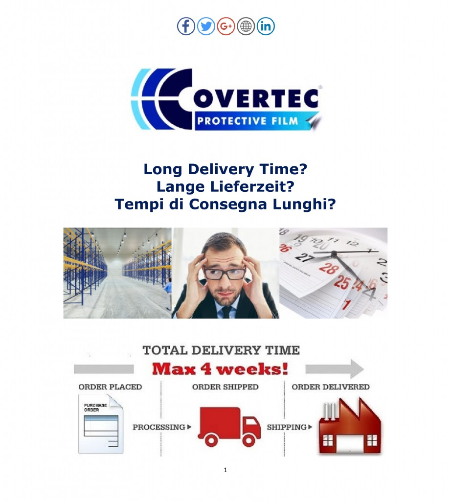 long delivery times